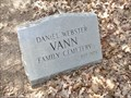 Image for Anderson Vann Cemetery - Pryor, OK