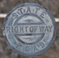 Image for Utah State Road Right-of-Way Marker