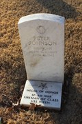 Image for F1/c Peter Johnson, US Navy -- Fort Sam Houston National Cemetery, San Antonio TX