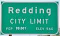 Image for Redding ~ Elevation 560