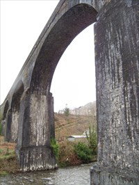 The Big Bridge, Pontrhydyfen, Afan Valley, Wales