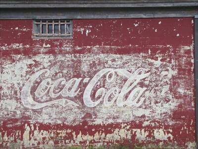 Coca-Cola Ghost Sign, Appling, Georgia