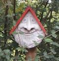 Image for Birdhouse Face - Story Garden, Binghamton, NY