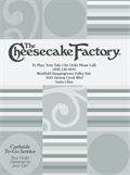 Image for Cheesecake Factory - Santa Clara, CA