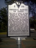 Image for 2-26 Original Survey of Aiken
