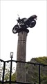 Image for Black motorcycle-Altenahr, RP, Germany