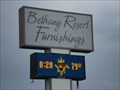 Image for Bethany Resort Furnishing Time and Temp Sign - Delaware
