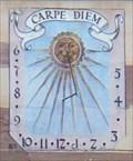 """Image for Sundial at """"La cour des Nobles"""", Riquewihr, Haut-Rhin/FR"""