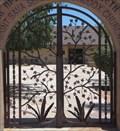 Image for Saint Sava Serbian Orthodox Church Gate - Phoenix, AZ