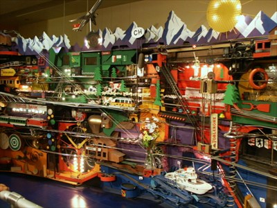 swiss jolly ball world s largest flipper machine museum of