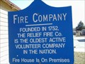 Image for Mt. Holly -  Releif Fire House 1752