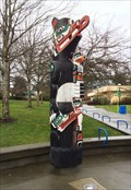 Image for Camosun College Interurban Campus Totem Pole - Saanich, British Columbia, Canada