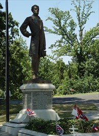 President Davis rests today with other members of his family in Richmond's Hollywood Cemetery.