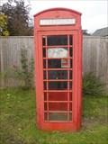 Image for Single Red Phone Box, Westerham, Kent. UK