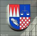Image for Ostrava-Jih CoA at Town Hall / Znak Ostravy-Jih na radnici - Ostrava (North Moravia)