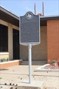 Image for FIRST -- Mayor of Tahoka, Tahoka TX
