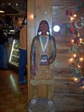 Image for Gatlin-Burlier Tobacconist Cigar Store Indian - Gatlinburg, TN