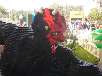 Darth Maul - Star Wars - Legoland Florida. USA.