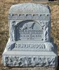 Image for Henderson - Olathe Memorial Cemetery - Olathe, Kansas