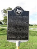 Image for FIRST - Czech Immigrants in Texas - Nelsonville, TX