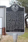 Image for ONLY Cemetery in City Limits - Breckenridge, TX