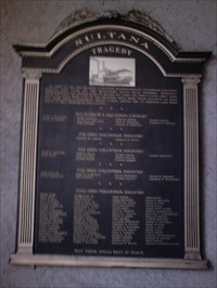 Sultana Tragedy - Mansfield, OH - Disaster Memorials on