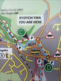 Image for YOU ARE HERE - Lôn Las Cefni Cycleway, Llangefni, Ynys Môn, Wales