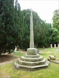 Image for Cross, St Michael's, Salwarpe, Worcestershire, England