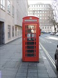 Image for Red Telephone Box - Great Central Street, London, UK