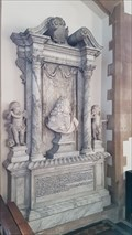 Image for Sir George Thorold monument - All Saints - Harmston, Lincolnshire