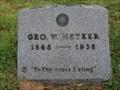 Image for George W. Metker - Sowers Cemetery - Irving, TX