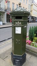 Image for Replica Victorian Pillar Box - Windsor High Street - Great Britain.