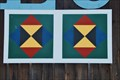 Image for Simple Barn Quilt at the Bradford County Heritage Museum - Troy, PA