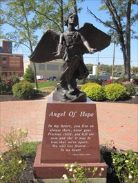 Angel of Hope on Base, Middletown, OH