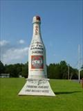Image for Big Concrete Champagne Bottle - New Gretna, NJ
