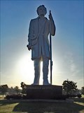 Image for 76-Foot-Tall Stephen F. Austin Statue - Angleton, TX