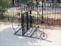 Image for Penny Farthing-decorated bike rack - Buena Vista, CO
