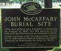 Image for John McCaffery Burial Site - Kenosha, WI