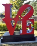 """Image for Robert Indiana's """"Love"""" Sculpture - Dallas, TX"""