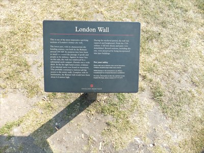 Part of the plaque reads:
