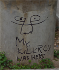 Image for Kilroy was here... on Paseo Balcarce - Salta, Argentina