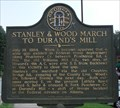 Image for Stanley & Wood March to Durand's Mill - GHM 044-26  – DeKalb Co., GA
