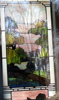 Image for Spink Family Mausoleum Stained Glass - Bellefontaine Cemetery - St. Louis, Missouri
