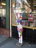 Image for Para-Olympic Lady - North Street, Wareham, Dorset, UK