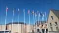 Image for Les drapeaux devant la mairie - La Flèche, Pays de Loire