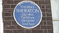 Image for Thomas Sheraton - Wardour Street, London, UK