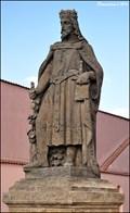 Image for Statue of Charles IV. at Melník Chateau / Pomník Karla IV. u Melnického zámku (Central Bohemia)