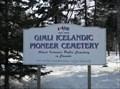 Image for Gimli Icelandic Pioneer Cemetery - Gimli MB