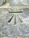 Image for Cut Bench Mark on St Johns Church, Westfield, East Sussex