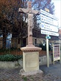 Image for Crucifix at crossroads, Eguisheim, Haut-Rhin/FR